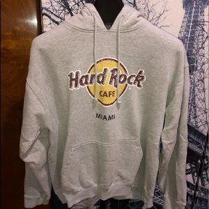 Hard Rock Cafe (Miami) Men's Hoodie